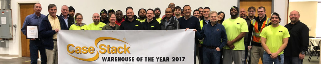 "CaseStack awards Atlanta Bonded ""Warehouse of the Year 2017"""