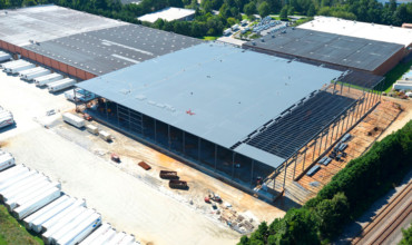 ABW3000 warehouse expansion, under construction July 2017